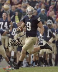 "Kyle Rudolph Notre Dame Fighting Irish Autographed 8"" x 10"" Photograph - -"