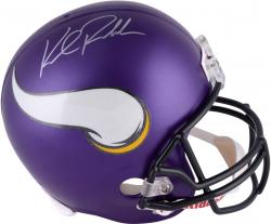 Kyle Rudolph Autographed Helmet - Riddell Replica Mounted Memories