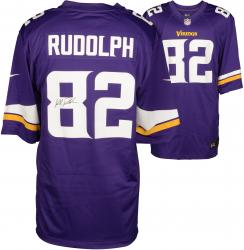 Kyle Rudolph Minnesota Vikings Autographed Nike Replica Purple Jersey