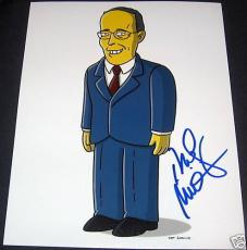 Rudy Giuliani Signed Autograph Simpsons 8x10 New Photo