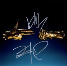 Run The Jewels 3 Killer Mike El-P Signed Album Lp Flat Photo AFTAL UACC RD COA