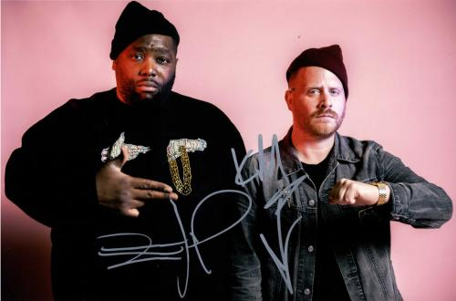 Run The Jewels RTJ Killer Mike El-P Signed 12x18 Poster Photo UACC RD AFTAL