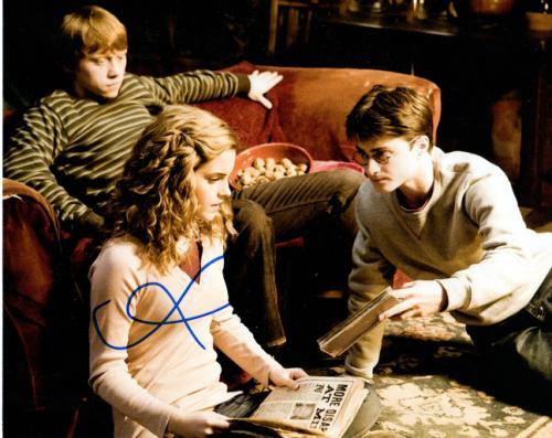 Rupert Grint Autographed Signed 8x10 Harry Potter Photo AFTAL