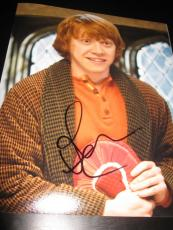 RUPERT GRINT SIGNED AUTOGRAPH 8x10 PHOTO HARRY POTTER PROMO IN PERSON COA AUTO V