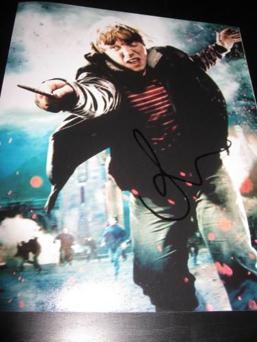 RUPERT GRINT SIGNED AUTOGRAPH 8x10 PHOTO HARRY POTTER PROMO IN PERSON COA NY X3