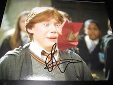 RUPERT GRINT SIGNED AUTOGRAPH 8x10 PHOTO HARRY POTTER PROMO IN PERSON COA NY X5