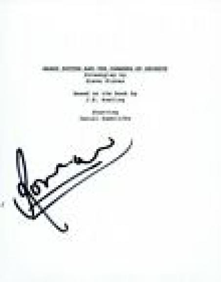Rupert Grint Signed Autograph HARRY POTTER THE CHAMBER OF SECRETS Script COA VD