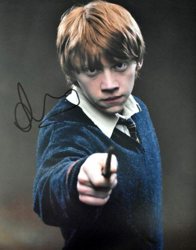 Rupert Grint Signed - Autographed Harry Potter - Ron Weasley 11x14 inch Photo - Guaranteed to pass PSA/DNA or JSA