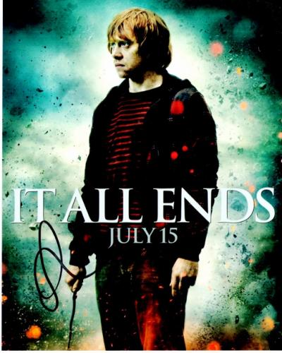 Rupert Grint Signed - Autographed Harry Potter - Ron Weasley 8x10 inch Photo - Guaranteed to pass PSA/DNA or JSA