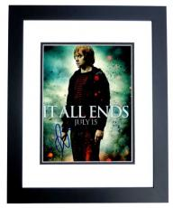 Rupert Grint Signed - Autographed Harry Potter - Ron Weasley 8x10 inch Photo - BLACK CUSTOM FRAME - Guaranteed to pass PSA or JSA