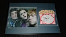Rupert Grint Signed Framed 12x18 Photo Display Harry Potter