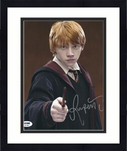 Rupert Grint Signed 'Harry Potter' 8x10 Photo *Ron Weasley PSA P31984