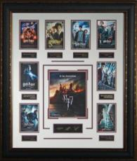 Rupert Grint unsigned Harry Potter Engraved Signature Series 9-Photo-Mini Movie PosterLeather Framed 28x34(entertainment)