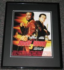 Rush Hour 3 Framed Advertisement Promotional Photo 11x14 Chris Tucker