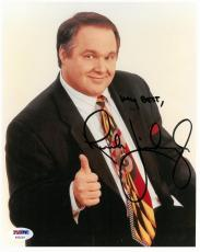 Rush Limbagh Signed Authentic Autographed 8x10 Photo PSA/DNA #AB55281