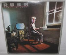 Rush Signed 'power Windows' Album Cover Geddy Lee & Alex Lifeson Jsa Coa