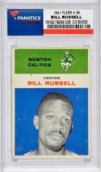 Bill Russell 1961 FLEER # 38 Vintage Basketball Card