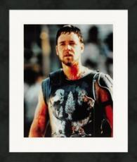 Russell Crowe 8x10 photo (Actor, New Zealand, Gladiator, 300) Image #4 Matted & Framed