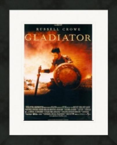 Russell Crowe 8x10 photo (Gladiator) Image #3 Matted & Framed