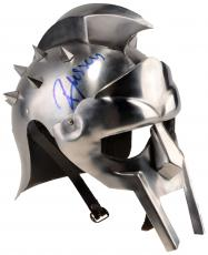 Russell Crowe Autographed Gladiator Replica Mask - PSA COA