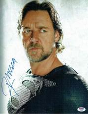 Russell Crowe Autographed Signed 11x14 Photo Certified Authentic PSA/DNA COA