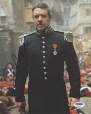 Russell Crowe Autographed Signed 8x10 Photo Certified Authentic PSA/DNA COA