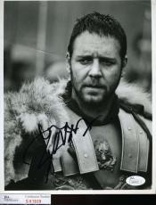 RUSSELL CROWE GLADIATOR Hand Signed JSA COA 8x10 Photo Autographed Authentic