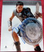 Russell Crowe Gladiator Maximus signed 8x10 photo Beckett BAS Authentic auto