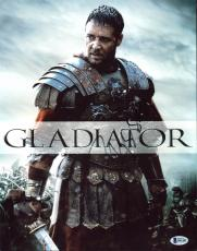 Russell Crowe Gladiator Signed 11X14 Photo Autographed BAS #B41462