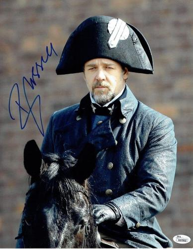 Russell Crowe Les Miserables Autographed Signed 11x14 Photo Authentic JSA COA