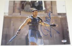 Russell Crowe Signed 11x14 Photo Auto Gladiator American Gangster Psa/dna Coa A