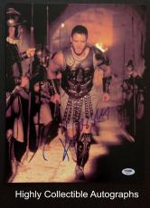 Russell Crowe Signed 11x14 Photo Autograph Psa Dna Coa Gladiator