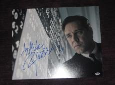RUSSELL CROWE Signed A BEAUTIFUL MIND 16 x 20 PHOTO with PSA COA