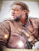RUSSELL CROWE SIGNED AUTOGRAPH 11x14 PHOTO NOAH RARE IMAGE IN PERSON COA D