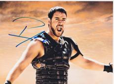 Russell Crowe Signed Autographed 8x10 Photo Gladiator Robin Hood COA VD