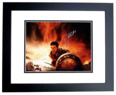 Russell Crowe Signed - Autographed GLADIATOR 11x14 inch Photo BLACK CUSTOM FRAME - Guaranteed to pass PSA or JSA
