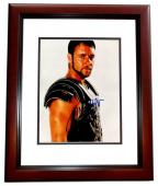 Russell Crowe Signed - Autographed Gladiator 8x10 inch Photo MAHOGANY CUSTOM FRAME - Guaranteed to pass PSA or JSA