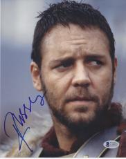 Russell Crowe Signed 'gladiator' 8x10 Photo Autograph Bas Beckett Coa