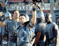 Russell Crowe Signed Gladiator Authentic Autographed 11x14 Photo PSA/DNA AB63786