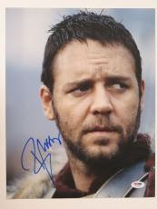 Russell Crowe Signed Gladiator Authentic Autographed 11x14 Photo PSA/DNA #H67285