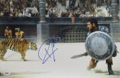 Russell Crowe Signed Gladiator Authentic Autographed 12x18 Photo PSA/DNA #Y47518