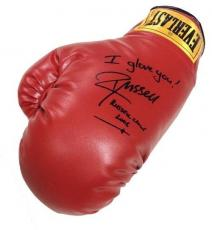 Russell Crowe Signed Inscribed I Glove You ! Boxing Glove Cinderella Man cbm COA