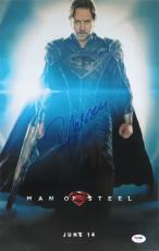 Russell Crowe Signed Man of Steel Authentic Auto 12x18 Photo PSA/DNA #U47597
