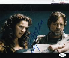 Russell Crowe signed Man of Steel Superman 8x10 Jor-El JSA Authenticated M74933