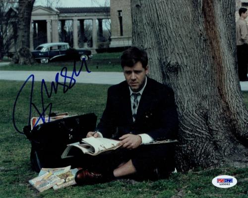 Russell Crowe Signed Perfect Mind Authentic 8x10 Photo (PSA/DNA) #L55062