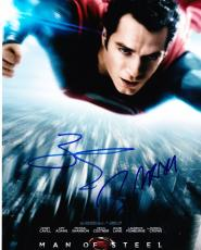 Russell Crowe Zack Snyder Man Of Steel Signed 8x10 Photo Auto Superman Proof