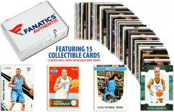 Russell Westbrook Oklahoma City Thunder Collectible 15 Card Lot