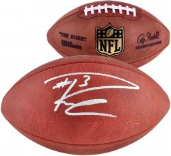 Russell Wilson Seattle Seahawks Autographed Football