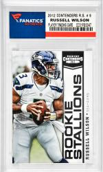 Russell Wilson Seattle Seahawks 2012 Contenders Rookie Stallions #9 Card
