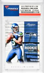 Russell Wilson Seattle Seahawks 2012 Panini Prestige Rookie #238 Card